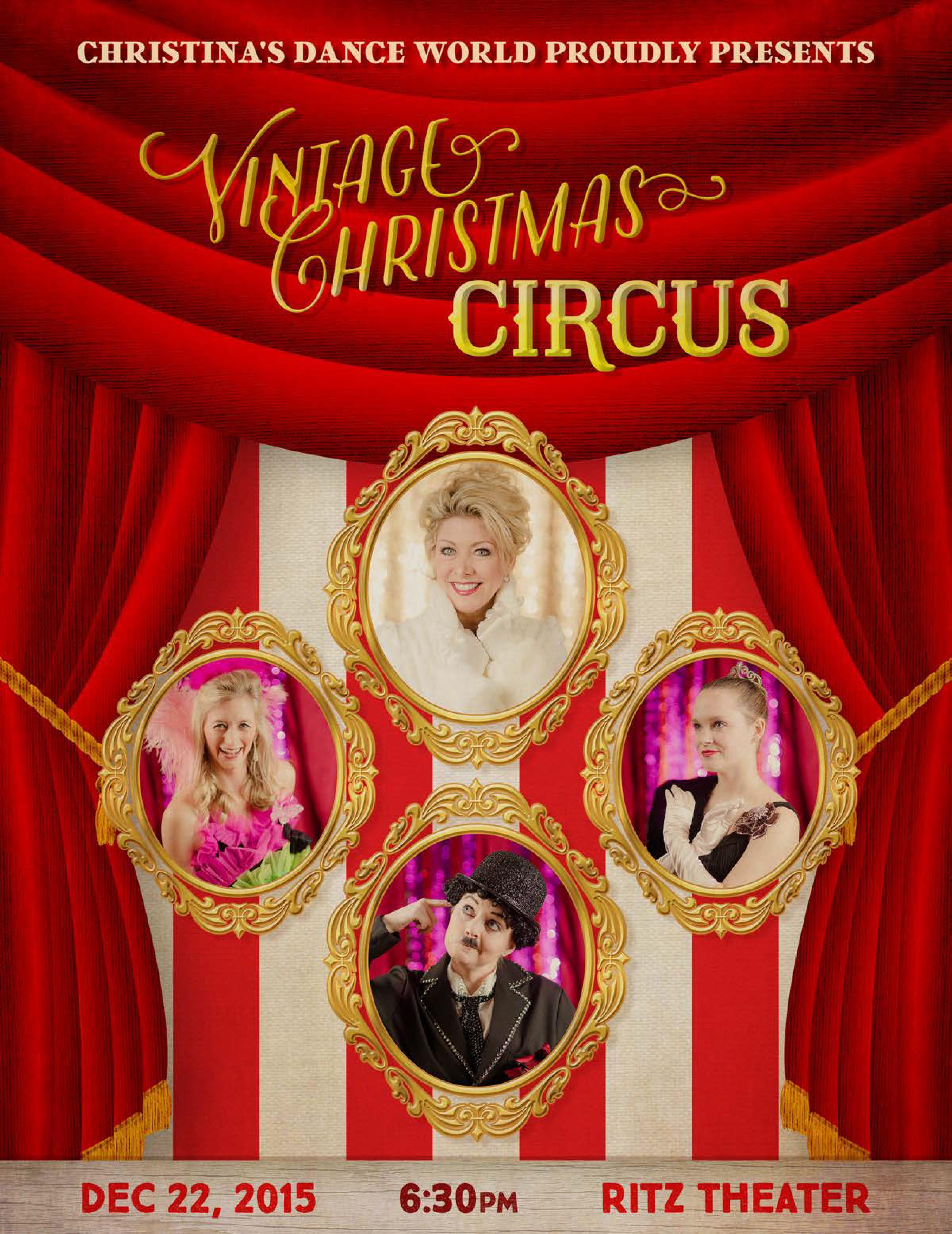 Vintage Christmas Circus - Show Program - WEB